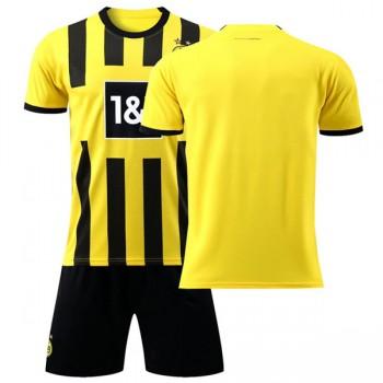 BVB Borussia Dortmund Tröja Barn 2018-19 Hemma Matchtröja Kortärmad