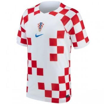 Billiga Kroatien 2018 VM Tröjor Hemmatröja Kortärmad