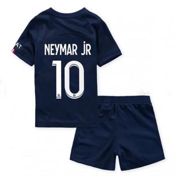 Paris Saint Germain PSG Tröja Barn 2018-19 Neymar Jr 10 Hemma Matchtröja Kortärmad