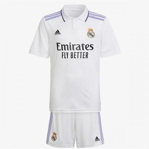 Real Madrid Tröja Barn 2018-19 Hemma Matchtröja Kortärmad 25ff2d54a2c6b