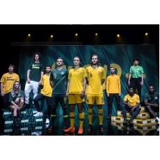Australian National Teams nya hem- och borttröjor för världscupen 2018